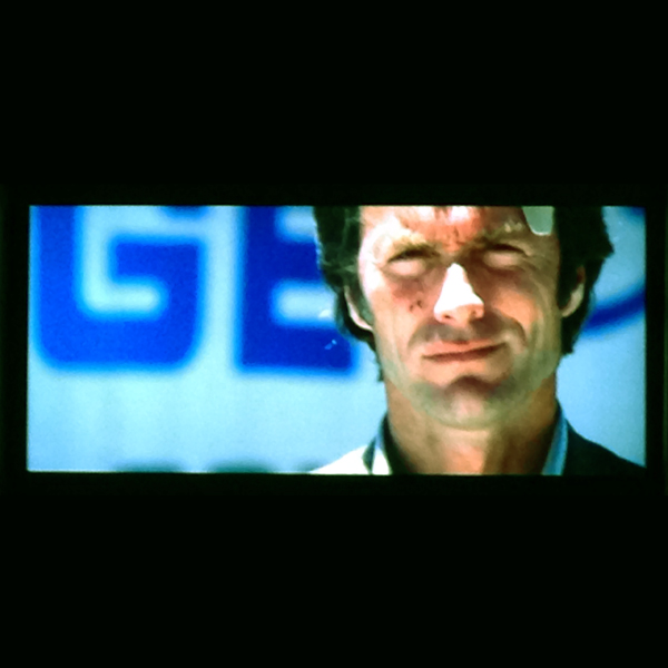 Video still of Clint Eastwood (as Dirty Harry) in Magnum Force