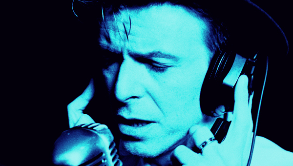 David Bowie lost in song circa 1997