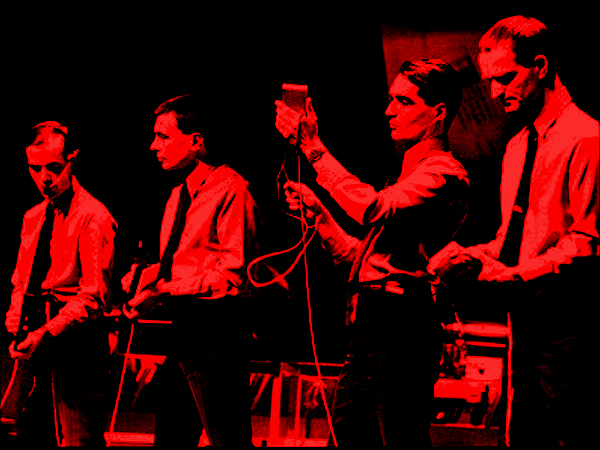 Kraftwerk performing live