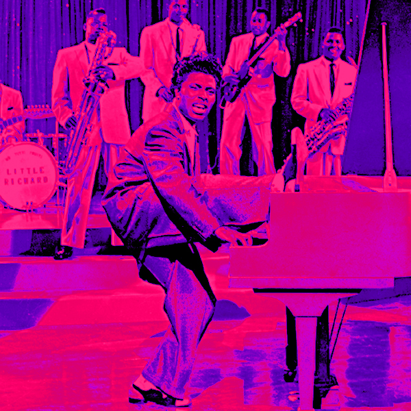 Little Richard does his thing