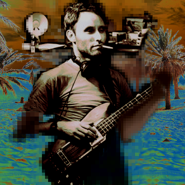 Jah Wobble materializes in the Sahara