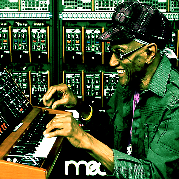 Bernie Worrell — of Parliament/Funkadelic — worked the machines (Moogs and other synths) during a 72 year mission to track down the source of the P-Funk