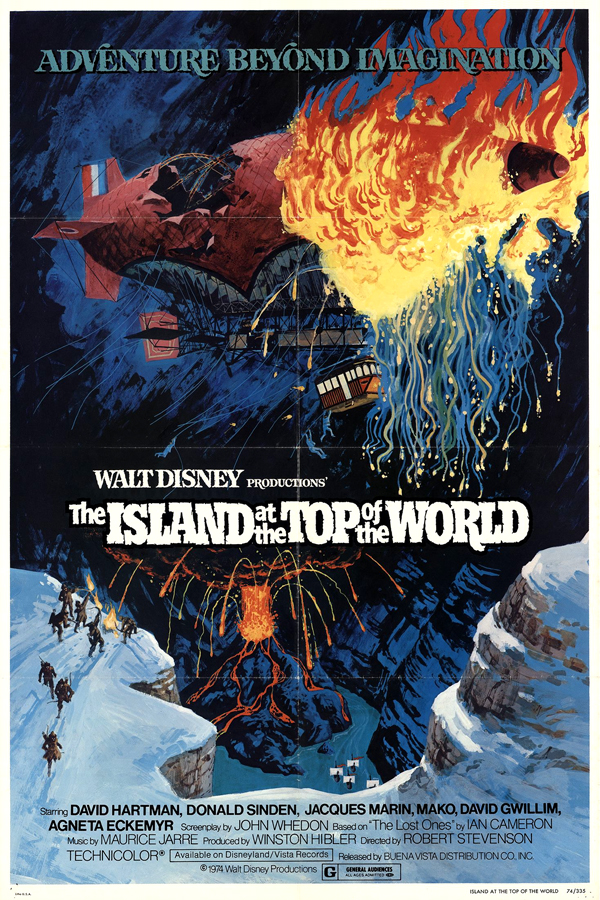 Movie poster for The Island At The Top Of The World